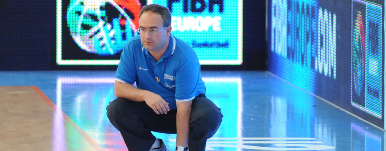 Basket Scandone, Sacripanti confermato allenatore della nazionale under 20