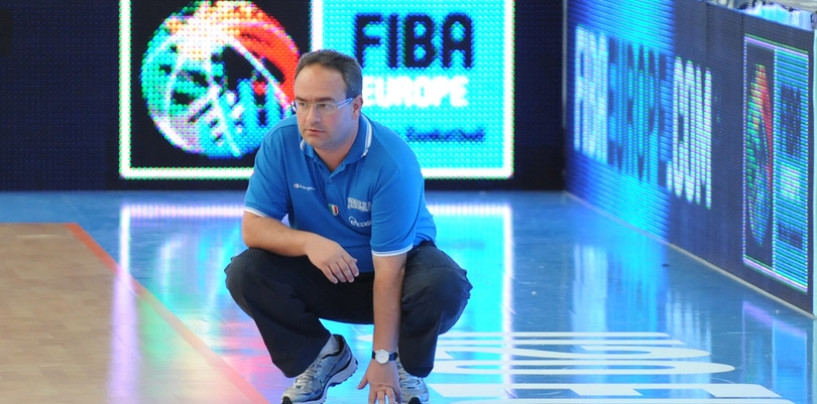 L'Italbasket chiamò, Stefano Sacripanti nuovo vice di Messina in Nazionale