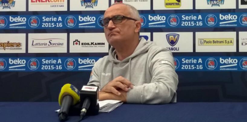 """Basket, Pancotto: """"Affrontiamo una grande del campionato, Cremona sarà umile e determinata"""""""