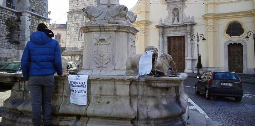 Emergenza acqua a Montoro e Solofra, il dibattito con Carlo Sibilia (M5S)