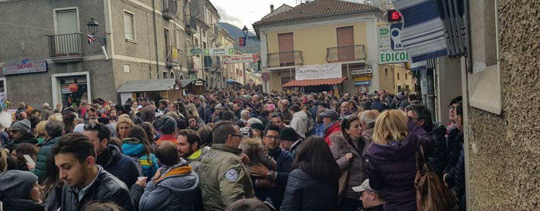 """Bagnoli Irpino, grande successo per il primo week end de """"Il Nero di Bagnoli"""""""
