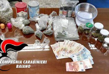 Coltivava marijuana sul balcone, giovane arrestato dai Carabinieri
