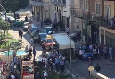 Cerignola spari tra la folla: assalto al portavalori, ferito agente Cosmopol