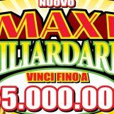 Nuovo Maxi Miliardario, strepitosa vincita da 5 milioni di euro in Campania