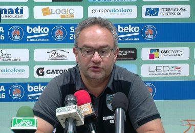 """VIDEO/ Sacripanti: """"Sidigas, confermati. Il Del Mauro ci spronerà a migliorarci"""""""