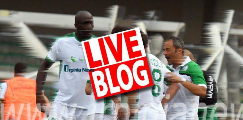 Calcio Avellino – Ecco il nuovo live blog di Irpinianews: chat esclusiva e diretta del match