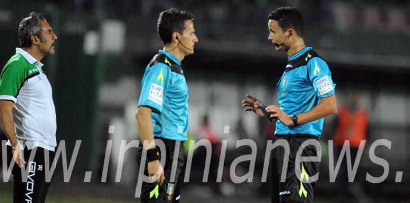 Avellino Calcio – A Vercelli fischia Martinelli: Novellino è avvertito