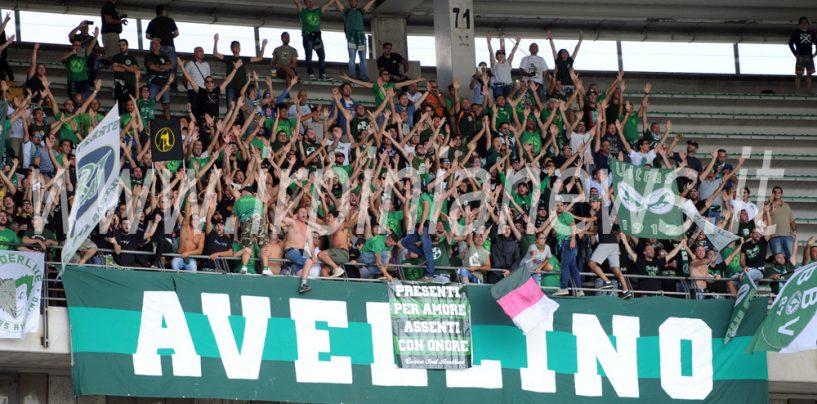 Avellino Calcio – Irriducibili al seguito dei lupi a Verona