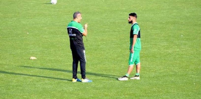 FOTO/ Avellino Calcio – Nervosismo Verde: Toscano lo tiene a rapporto