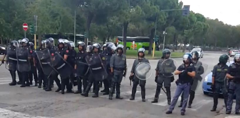 Avellino-Salernitana, tensione tra tifosi a Serino