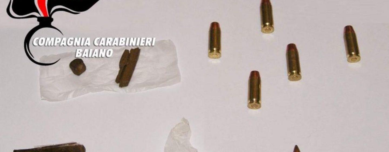 Vasta operazione antidroga sul territorio irpino, rinvenute anche munizioni di vario calibro