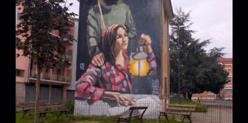 """FOTO/ Dallo stadio a rione San Tommaso, la """"street art"""" in mostra ad Avellino"""