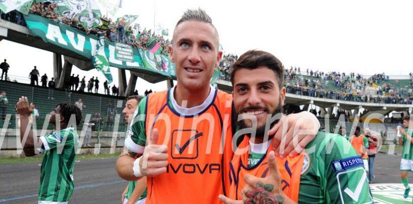 Avellino Calcio – Verde e Ardemagni in gol anche sui social