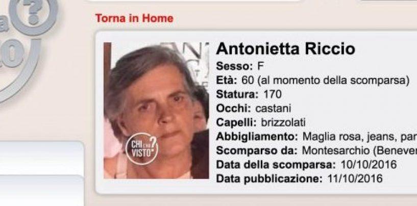 """""""Chi l'ha visto"""", 60enne scomparsa in Valle Caudina: partite le ricerche"""