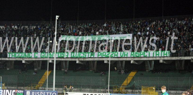 Avellino Calcio – La Curva Sud alza la voce: Taccone e Gubitosa nel mirino