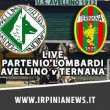 LIVE PARTENIO LOMBARDI/ Avellino – Ternana: risultato e cronaca in tempo reale
