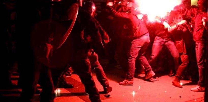 FOTO/ Scoperto ad Avellino il supermercato delle bombe carta per gli ultras italiani