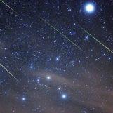 Orionidi: stasera pioggia di stelle cadenti d'autunno