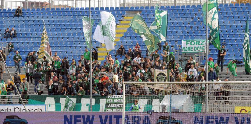 Avellino Calcio – Mini invasione a Vercelli: 200 tifosi nel settore ospiti