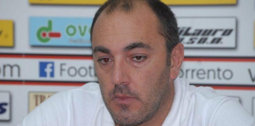"""Coppa, Fc Sorrento-Cervinara 1-1, Turi: """"Possibilità qualificazione restano invariate"""""""