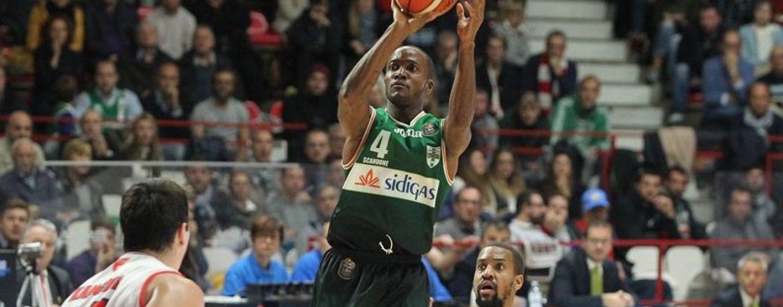 Sidigas, Marques Green e le sette triple contro Reggio Emilia: è record