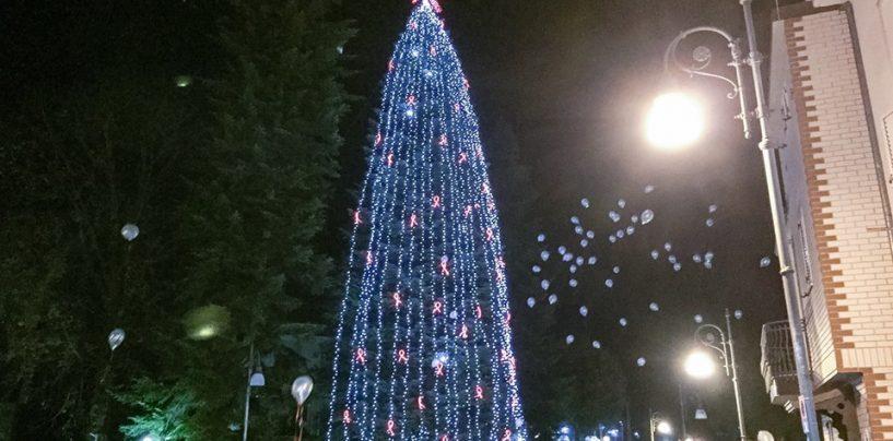 A Caposele l'albero di Natale più alto d'Europa