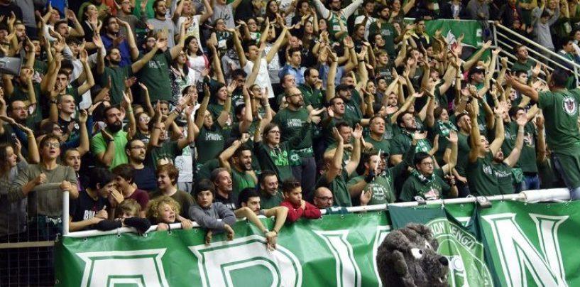 Basket, Sidigas Avellino: al via la prevendita per la gara contro Reggio Emilia