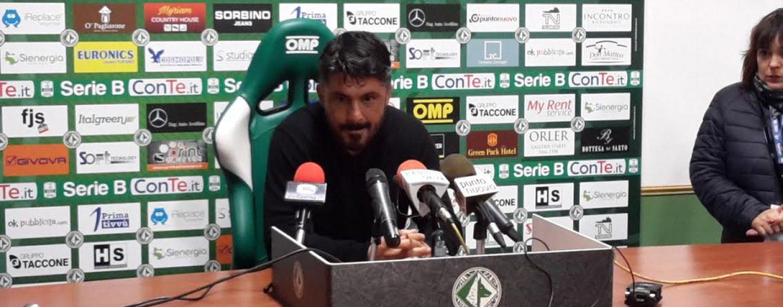 """SALA STAMPA/ Gattuso: """"Niente alibi, ma gli arbitri ci penalizzano"""""""