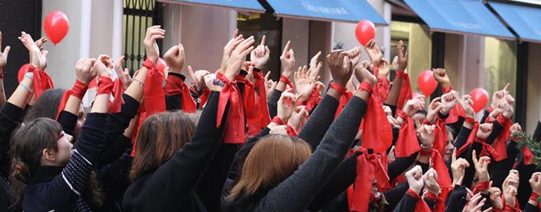 Violenza sulle donne: l'Ipercoop domani si tinge di rosso