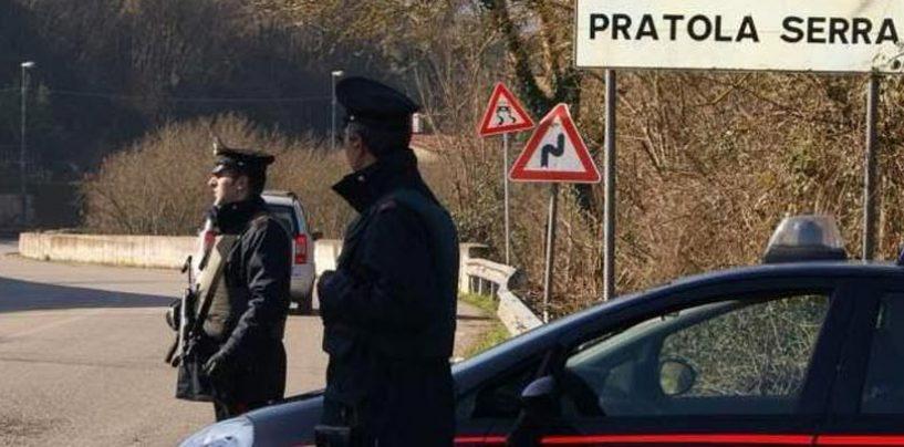 Sottoposta ai domiciliari, andava in giro in auto a Pratola Serra: denunciata