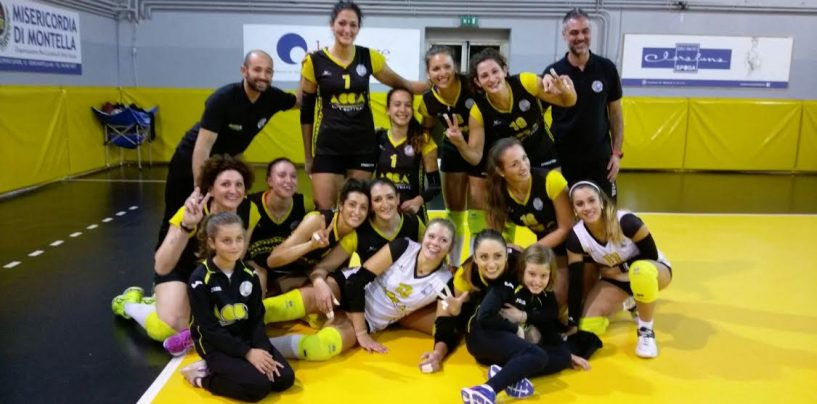 Volley – Acca Montella in campo domani a Chieti