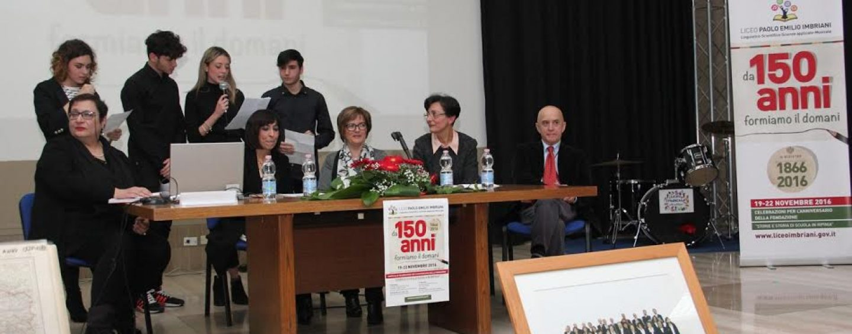 Manifestazioni per i 150 anni della fondazione del Liceo Imbriani di Avellino