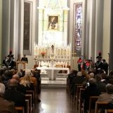 """I Carabinieri celebrano la """"Virgo Fidelis"""", messa al Rosario del Vescovo Aiello"""