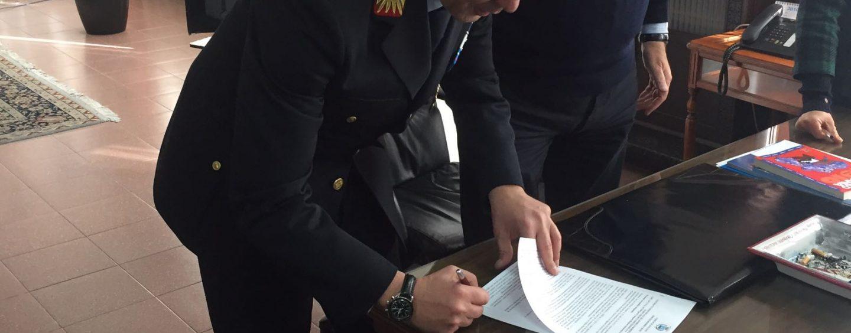 Michele Arvonio comandante della Polizia di Avellino