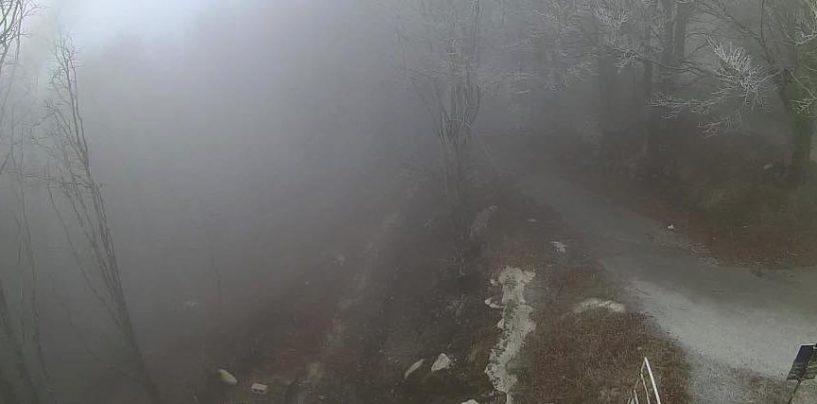 Meteo Avellino, debole nevicata sulle vette del Partenio. Le previsioni per il week-end