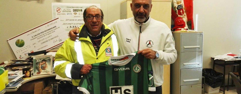 Avellino Calcio, Gubitosa invita il sindaco di Amatrice al Partenio per il derby col Benevento