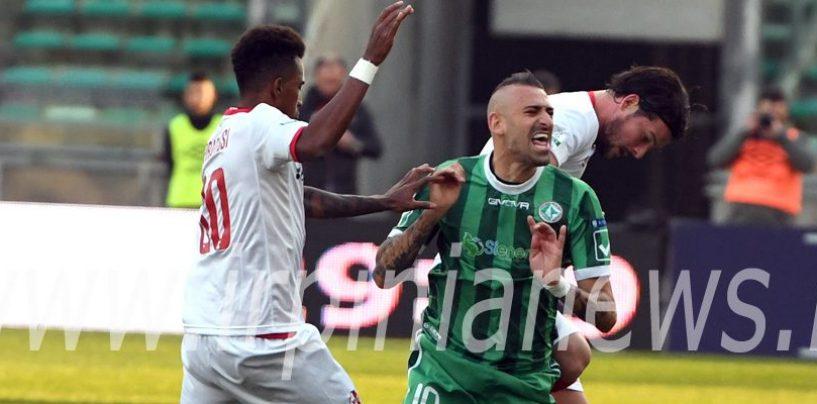 Avellino Calcio – I convocati per il Trapani: Castaldo ancora a casa