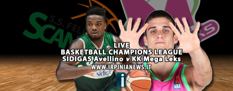 Basket, la Sidigas torna a sorridere al Del Mauro. Mega Leks sepolto