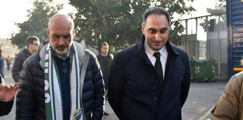 Avellino Calcio – Gubitosa abbraccia il sindaco di Amatrice