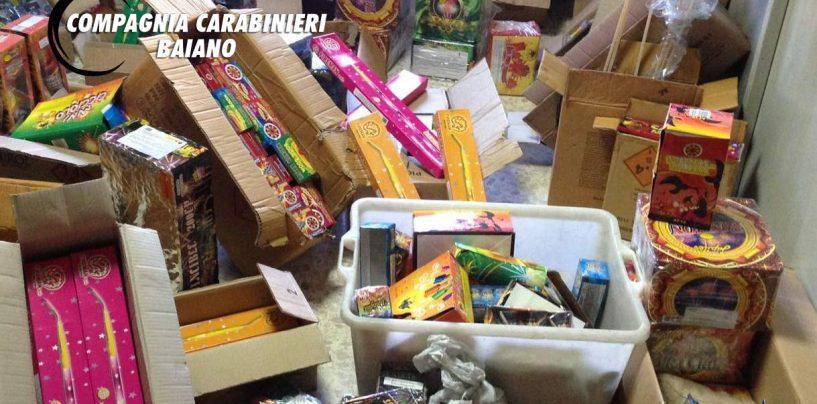 FOTO/ Sequestrati 600 chili di botti illegali. Denunciato un 50enne