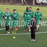 Dietrofront Avellino: il ritiro per il derby si fa in città