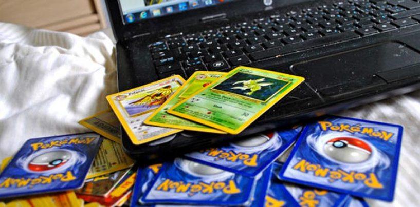 Maxi sequestro ad Avellino di carte da gioco Pokemon tarocche