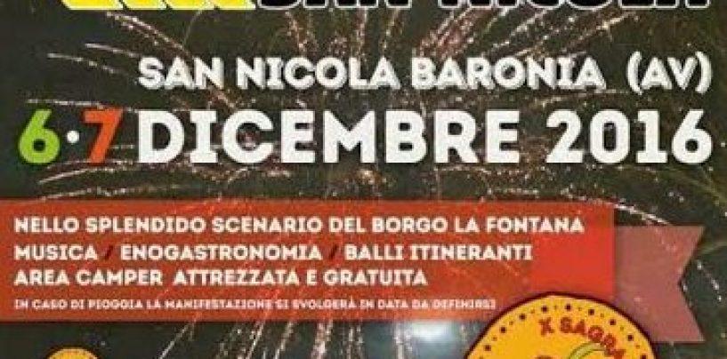 """Al via la decima edizione de """"I Falò di San Nicola Baronia"""""""
