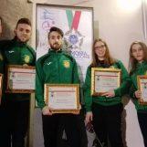 Benemerenze Coni, premiati 5 atleti dell'Asd Taekwondo Avellino