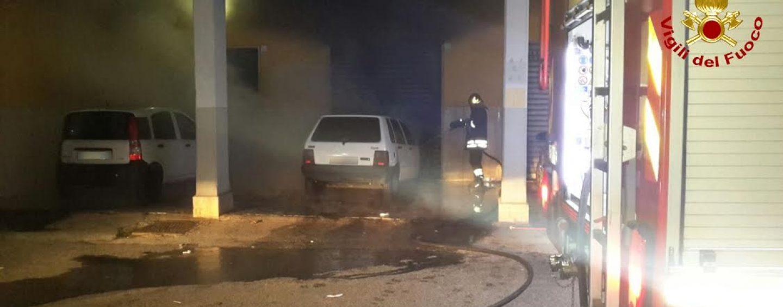 Avellino e Serino, doppio incendio di autoveicoli