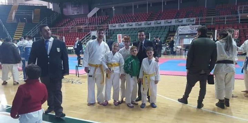 Campionato regionale Acli di karate, incetta di medaglie per la a.s.d. Bellessere