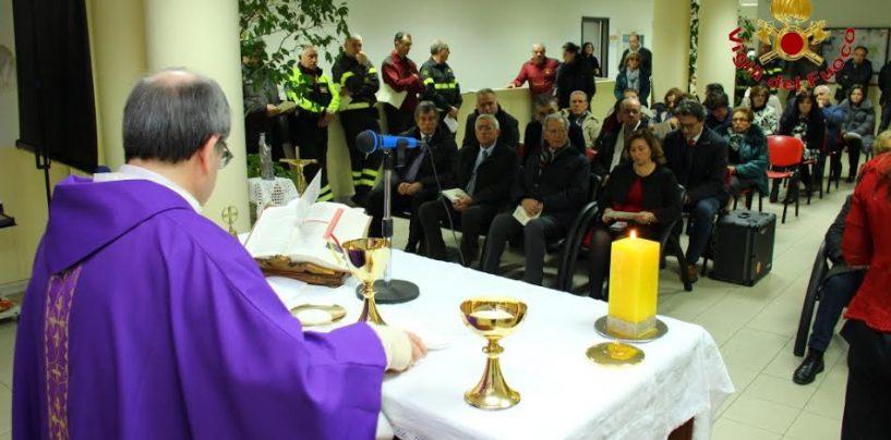 Avellino, i Vigili del Fuoco celebrano il precetto Natalizio