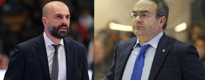 Sacripanti-Buscaglia: al DelMauro sarà derby azzurro in panca