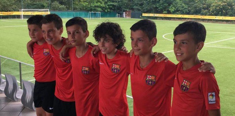 Da Ariano a Barcellona sognando Messi, la storia del baby Jacopo Della Paolera