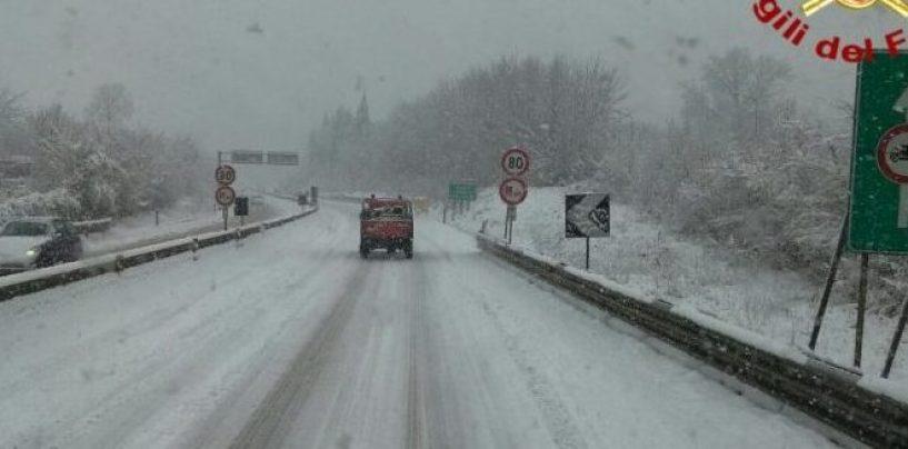 Emergenza Neve, viabilità ok in provincia. Nuova allerta per la nottata